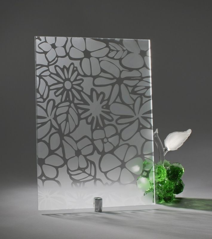 Зеркало РОМАШКА серебро