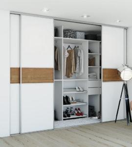 Встроенный шкаф-купе ВШК-033