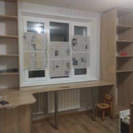 Шкаф с рабочим местом 00168