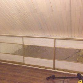 Шкаф под мансарду 00191