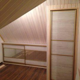 Шкаф под мансарду 00192