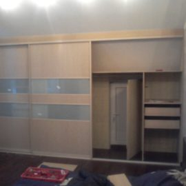 Шкаф под мансарду 00199