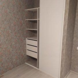 Встроенный шкаф-купе 00214